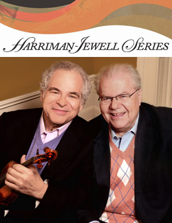 Itzhak Perlman and Emanuel Ax, violinist and pianist in duo recital