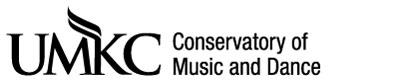 UMKC Conservatory logo