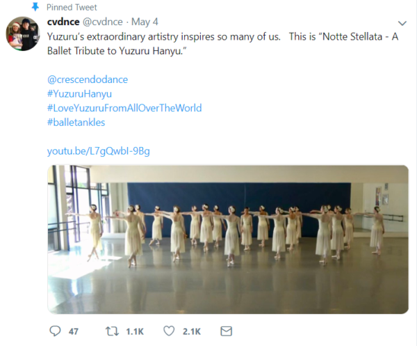 Viral Tweet from Crescendo Conservatory