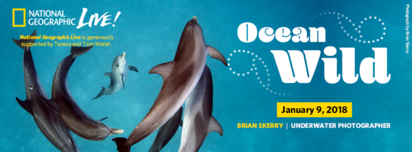Brian Skerry: Ocean Wild - January 9, 2018 at the Kauffman Center