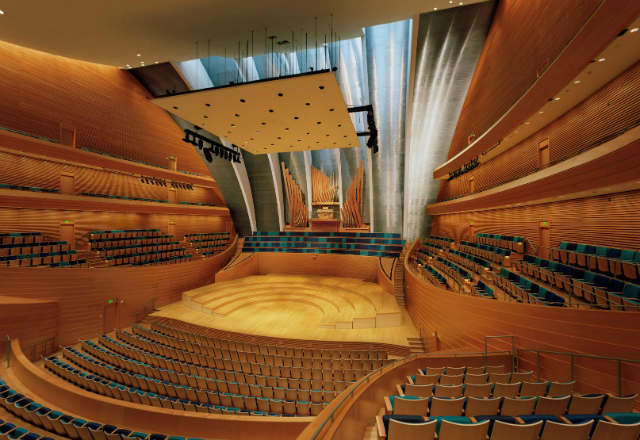 Helzberg Hall at the Kauffman Center for the Performing Arts media photo - photo by Tim Hursley