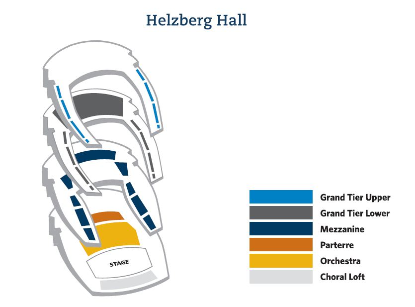 Kauffman Center Seating Chart Images For Students In