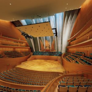 Helzberg hall kauffman center for the performing arts kauffman