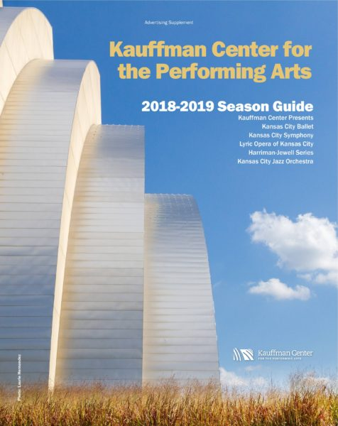 Kauffman Center for the Performing Arts - 2018-2019 Season Guide