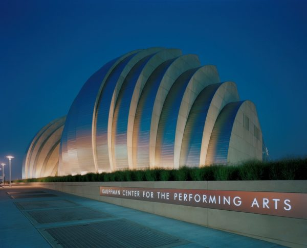 Kauffman Center Northern Exterior