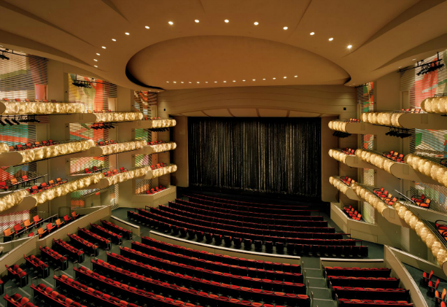Muriel Kauffman Theatre at the Kauffman Center for the Performing Arts ,media photo - photo by Tim Hursley