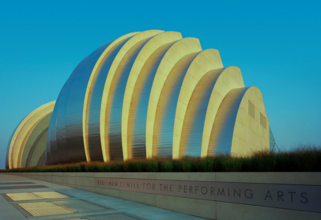 Kauffman Center exterior media photo - photo by Tim Hursley