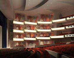 Proscenium Theatre Rendering