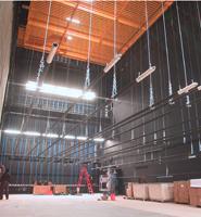 Proscenium theatre stage