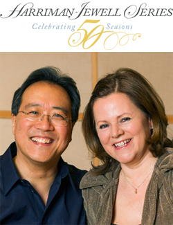 Yo-Yo Ma, cellist, and Kathryn Stott, pianist<br> in duo recital <br>