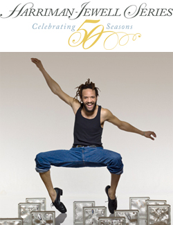 Savion Glover and ensemble<br> performing STePz <br>