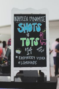 Shots & Tots film-inspired Refreshments